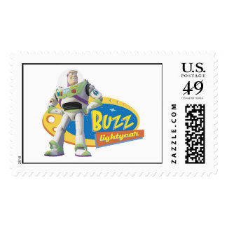 Buzz Lightyear Standing Strong Stamp
