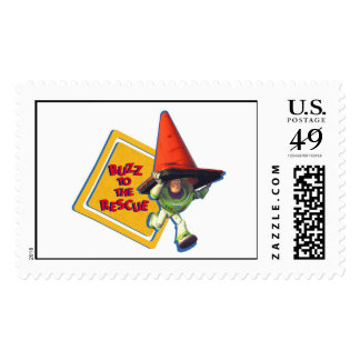 Buzz Lightyear to the Rescue Postage Stamps