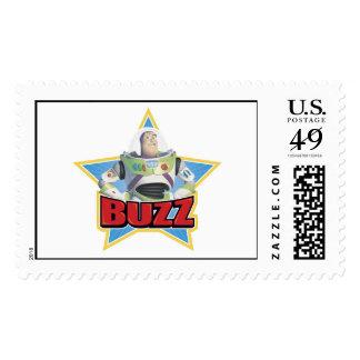 Buzz Logo Disney Postage