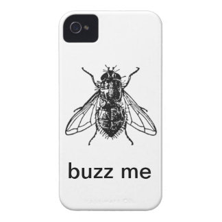 Buzz Me Housefly iPhone 4 Case-Mate Cases