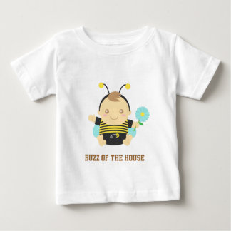Buzz of the House, Cute Bumble Bee Baby Baby T-Shirt