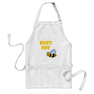 buzz off adult apron