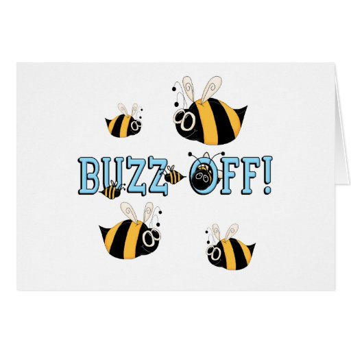 Buzz Off Funny Kids Gift Card
