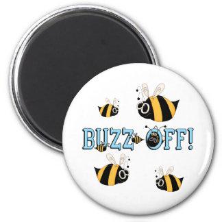 Buzz Off Kids Bee Gift Magnet