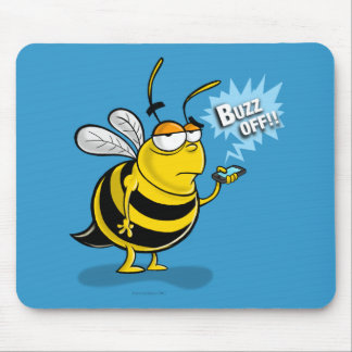 Buzz Off!! Mouse Pad