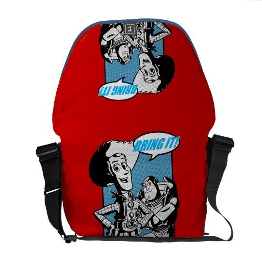 Buzz & Woody: Bring It Messenger Bag