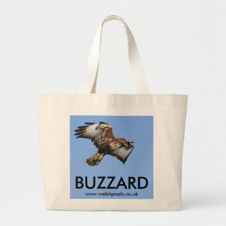 Buzzard  1 jumbo tote bag