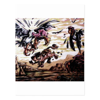 buzzard bait post card