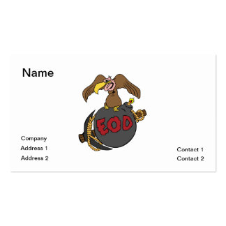 Buzzard Bomb and Pick Double-Sided Standard Business Cards (Pack Of 100)