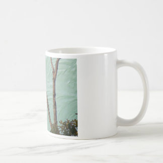 buzzard on stucco coffee mug