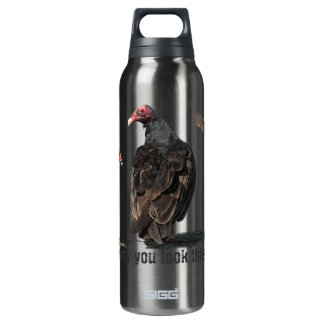 BUZZARD 16 OZ INSULATED SIGG THERMOS WATER BOTTLE