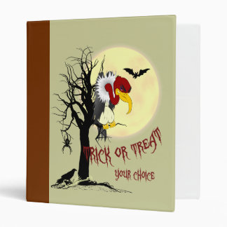 Buzzard Trick or Treat Binder
