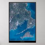 Buzzards Bay, Massachusetts satellite poster