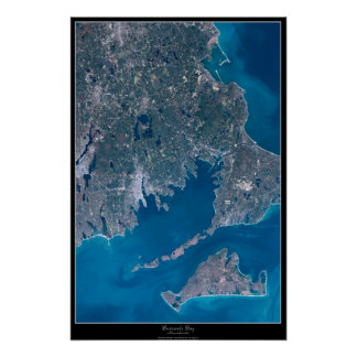 Buzzards Bay, Massachusetts satellite poster