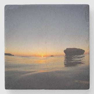 Buzzards Bay Sunset Coaster Stone Beverage Coaster