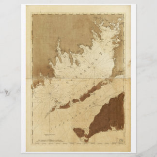 Buzzards Bay & Vineyard Sound Mass. Map (1776)