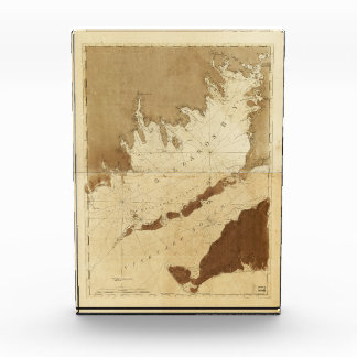 Buzzards Bay & Vineyard Sound Mass. Map (1776) Award