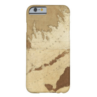 Buzzards Bay & Vineyard Sound Mass. Map (1776) Barely There iPhone 6 Case