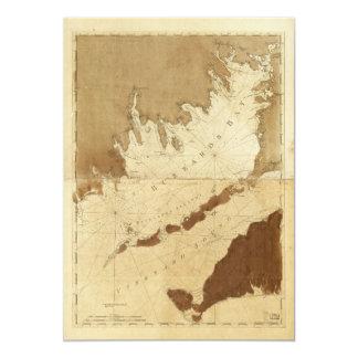 Buzzards Bay & Vineyard Sound Mass. Map (1776) Card