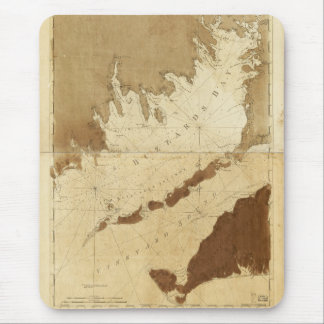 Buzzards Bay & Vineyard Sound Mass. Map (1776) Mouse Pad