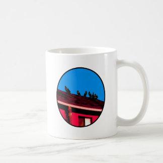 Buzzards o Magenta Blue The MUSEUM Zazzle Gifts Coffee Mug