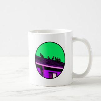 Buzzards o Purple Green The MUSEUM Zazzle Gifts Coffee Mug