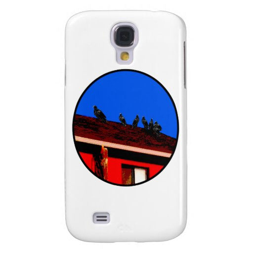 Buzzards o The MUSEUM Zazzle Gifts Samsung Galaxy S4 Cases