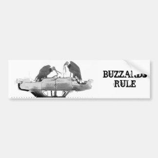 Buzzards Rule Bumper Sticker