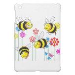 Buzzed Bees in Flowers iPad Mini Case