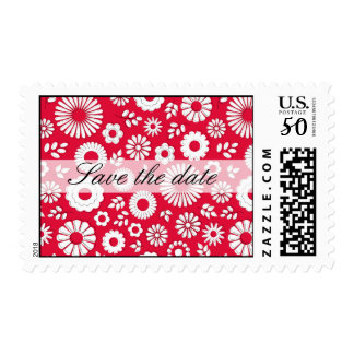 """Buzzers floral talk """"save the DATE"""" pos-meet Postage"""