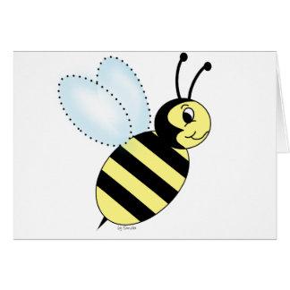 Buzzin' Bee Greeting Card