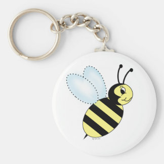 Buzzin' Bee Key Chains