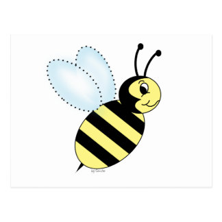 Buzzin' Bee Postcard
