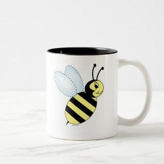 Buzzin' Bee Two-Tone Coffee Mug