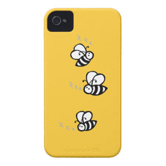 Buzzing Bees iPhone 4 Case-Mate Case