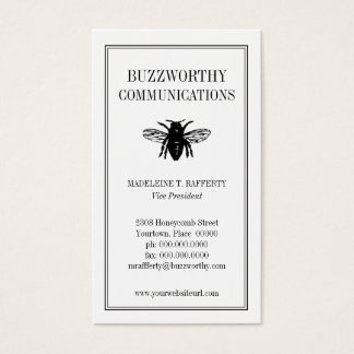 Buzzworthy Business Card