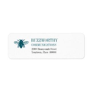 Buzzworthy Return Address label