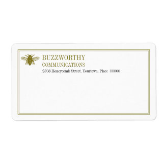 Buzzworthy Shipping Label