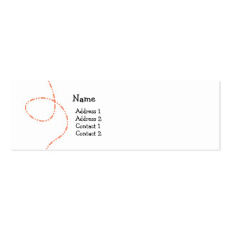 Buzzy Bee Double-Sided Mini Business Cards (Pack Of 20)