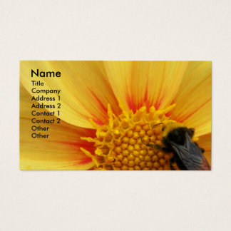Buzzy Bee Floral Business Card