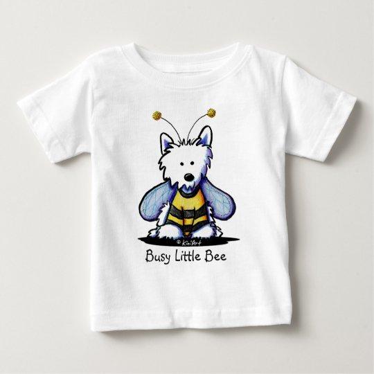Buzzy Bee Westie Baby T-Shirt