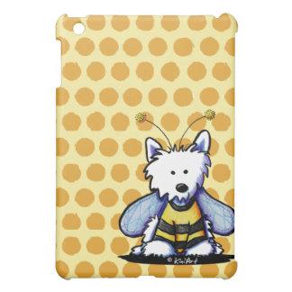 Buzzy Bee Westie iPad Mini Cover