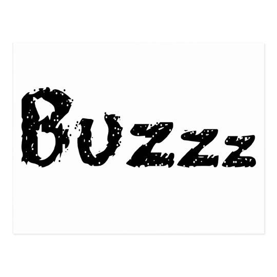 Buzzz Postcard