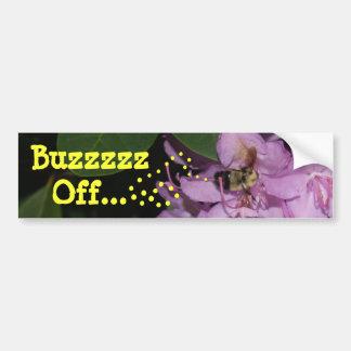 Buzzzzz… de la pegatina para el parachoques pegatina para auto