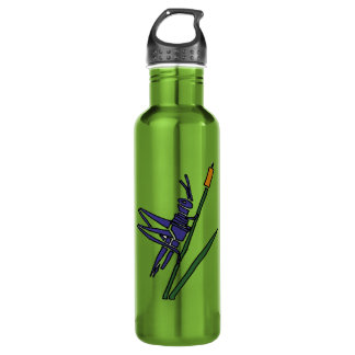 BV- Funny Cricket Stainless Steel Water Bottle