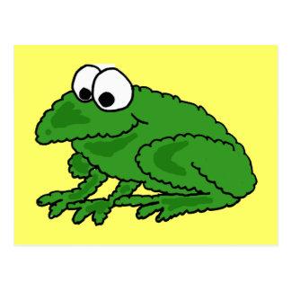 BV- Funny Frog Postcard
