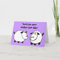 BV- Funny Sheep Birthday Card
