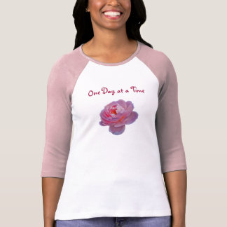 BV- One Day at a Time Rose Inspirational Shirt