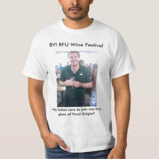 BVI RFU Wine Festival T-Shirt
