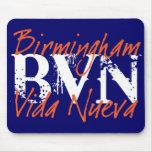 "BVN ""Grunge"" Auburn Mousepad"